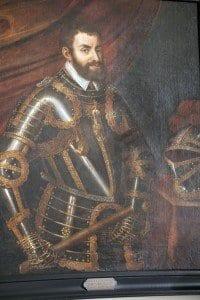 Retrato de Carlos V en el Ayuntamiento de Gante