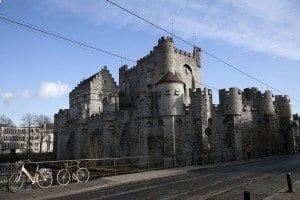 La Fortaleza Gante data de 1180