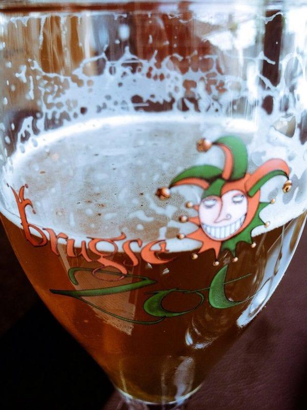 La Brugge es la cerveza tipica de Brujas