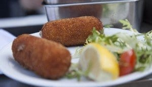 Las croquetas, plato famoso en el Mer do Nord