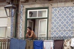 Las casas de Oporto se caracterizan por sus balcones