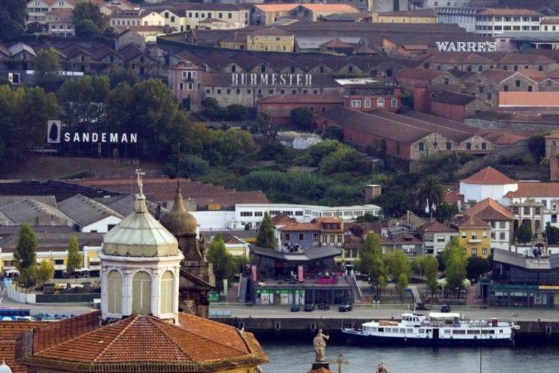 Tofas las bodegas de Oporto están identificadas