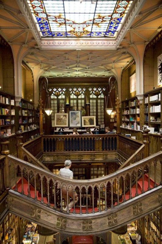 La librería Lello fue escenario del rodaje de Harry Potter