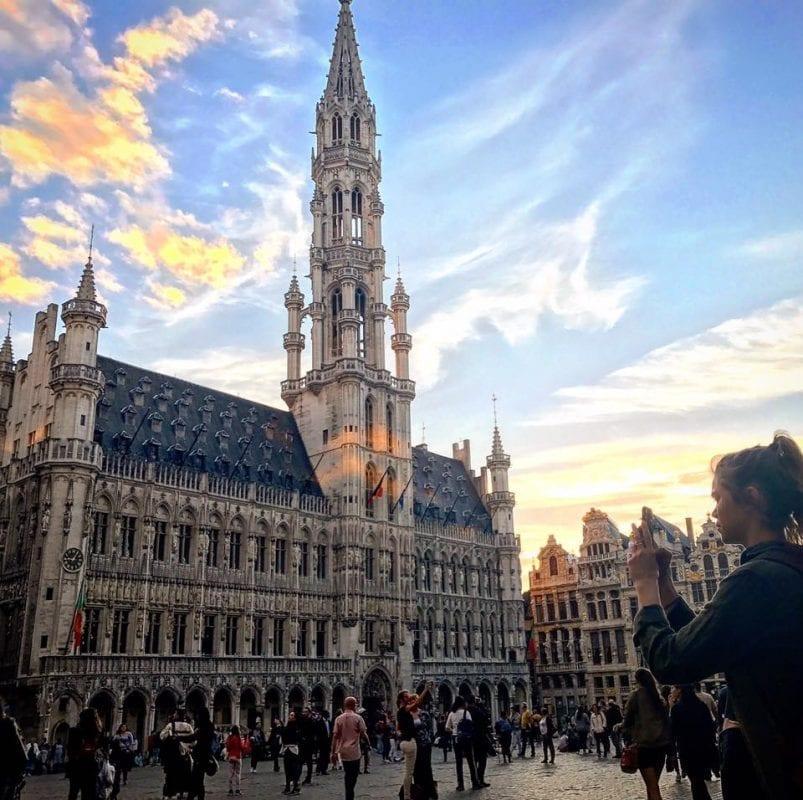La Grand Place de Bruselas es una maravilla