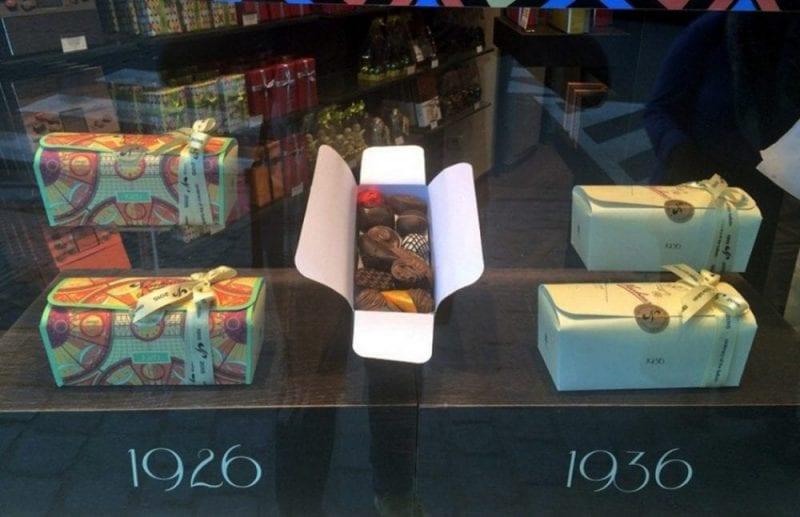 Neuhaus también es famosa por el diseño de sus cajas