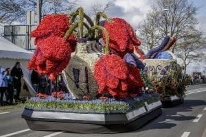 La importancia de los tulipanes se ve por todo Keukenhof