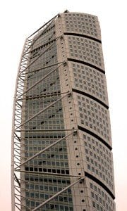 El edificio de Calatrava desde otro ángulo