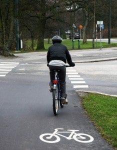 Malmö tiene 390 km de carril bici.