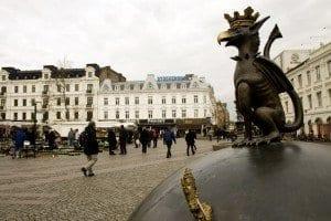 Plaza de Gustav Adolfs Torg.