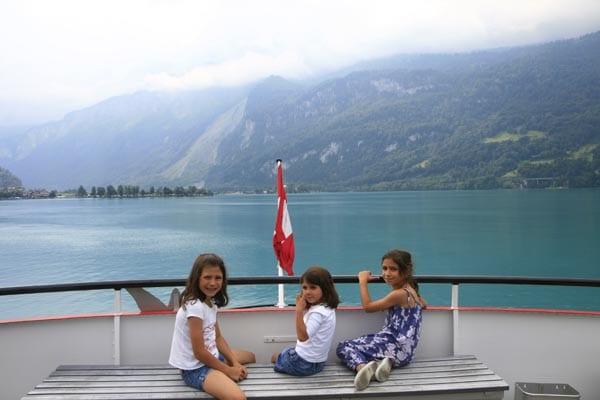 Navegar en los lagos suizos, experiencia recomendable