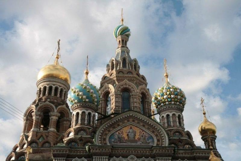 Detalle de las cúpulas de la iglesia de San Salvador
