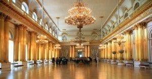 Uno de los muchos salones que dan forma al Hermitage