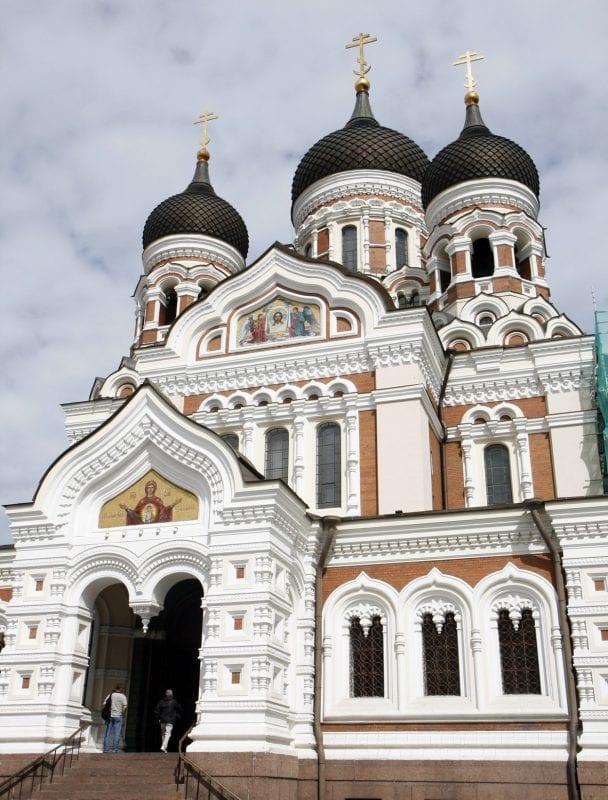 Catedral ortodoxa de de Alejandro Nevski.