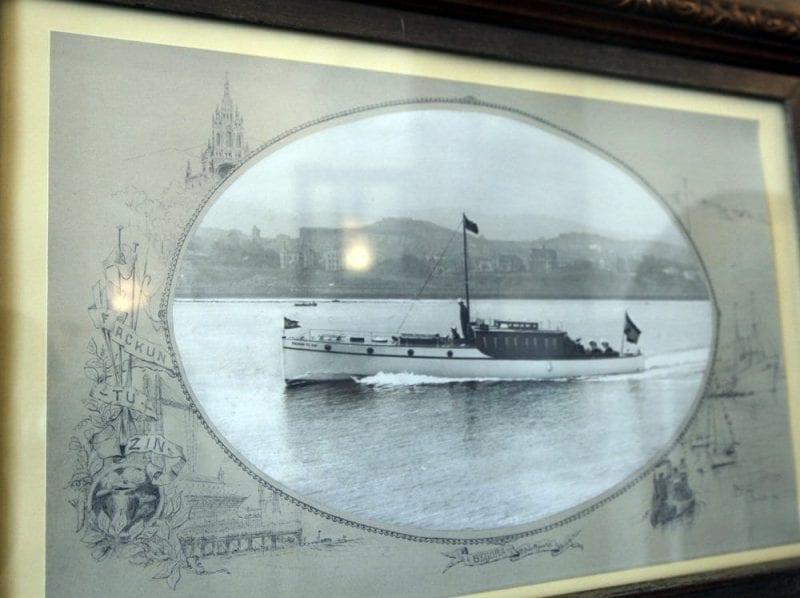 Imagen del barco de Alfonso XIII
