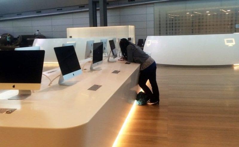 Ordenadores Mac para uso de pasajeros