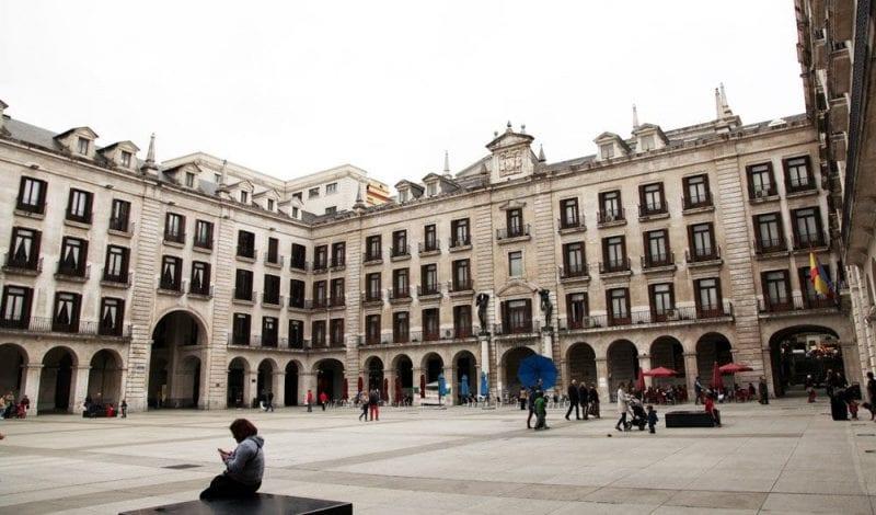 La plaza Porticada es peatonal