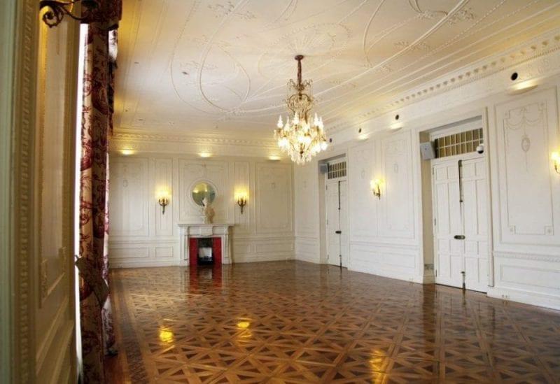 En este salón se celebraban las fiestas con pocos invitados