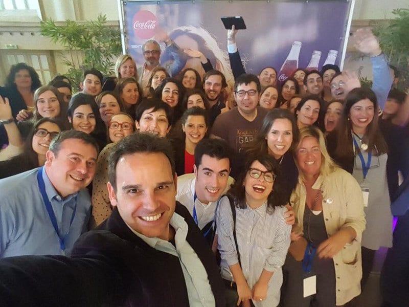 El selfie de cierre del #ecomgastro