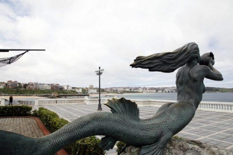 La sirena del Sardinero