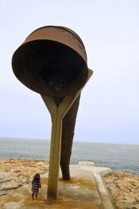 El Parque Escultórico que rodea la Torre de Hércules es un museo al aire libre