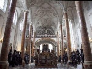 La iglesia de la Corte es una de las grandes obras del renacimiento austriaco