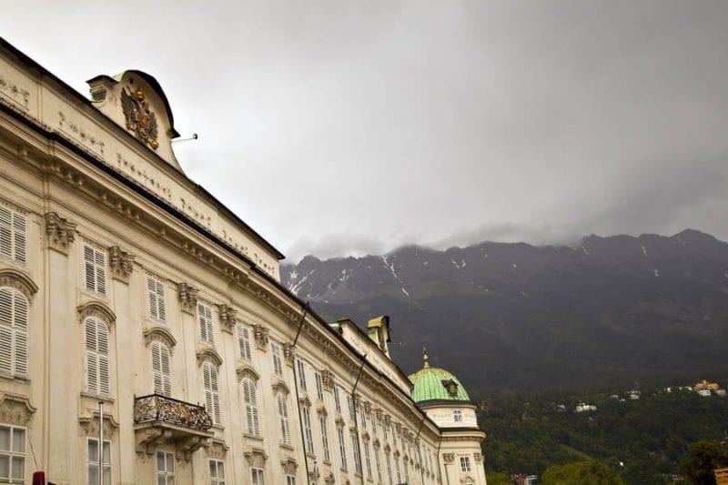 Hofburg fue residencia de la rama tirolesa de los Austrias