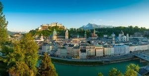 Panorámica de Salzburgo
