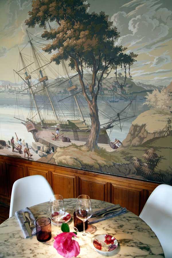 Interior del restaurante De Luz