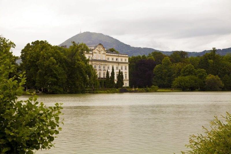 Fachda del castillo de Leopoldskron