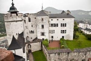 Vistas desde la torre de la fortaleza de Hohensalzburg