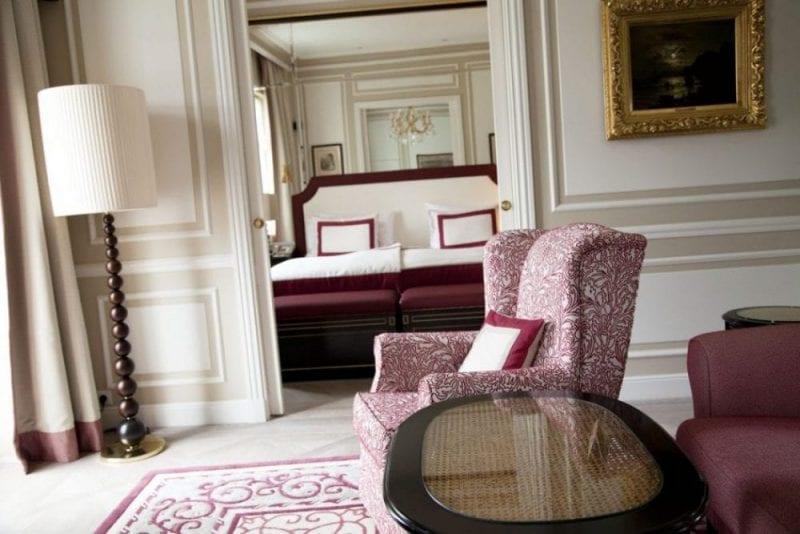 Habitacion del hotel Sacher de Salzburgo