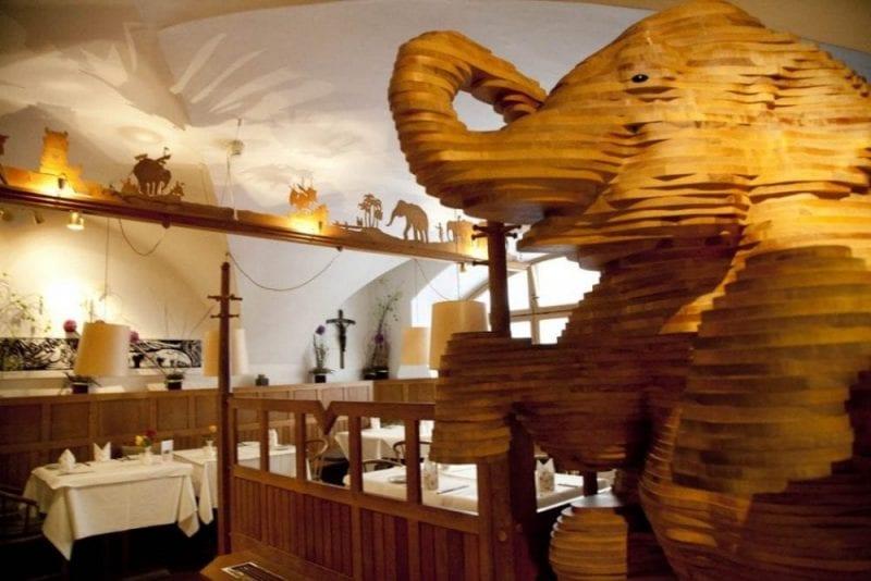 Restaurante del hotel Elephant