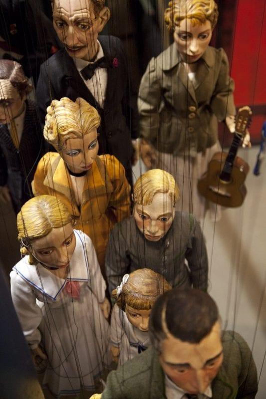 Marionetas de la familia Von Trapp