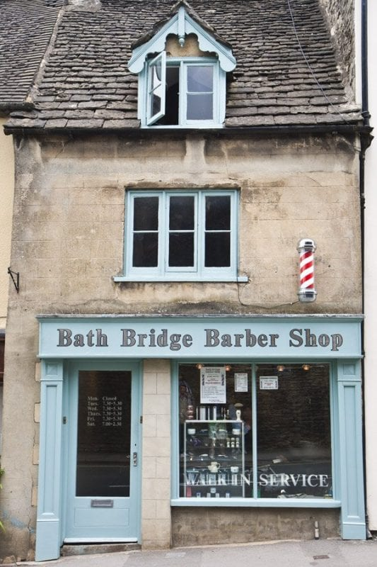 Barbería en Tetbury