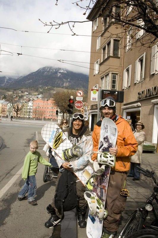 El tranporte público es gratuito para esquiadores