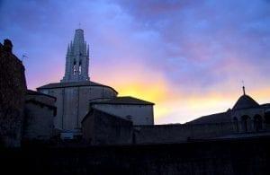 Atardecer en Girona