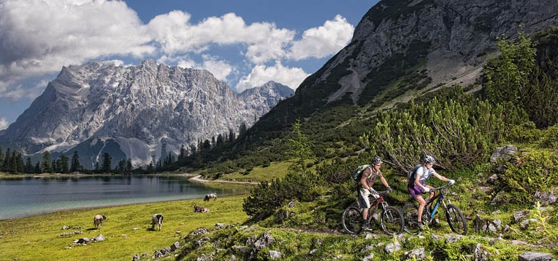 Innsbruck es la capital del cicloturismo