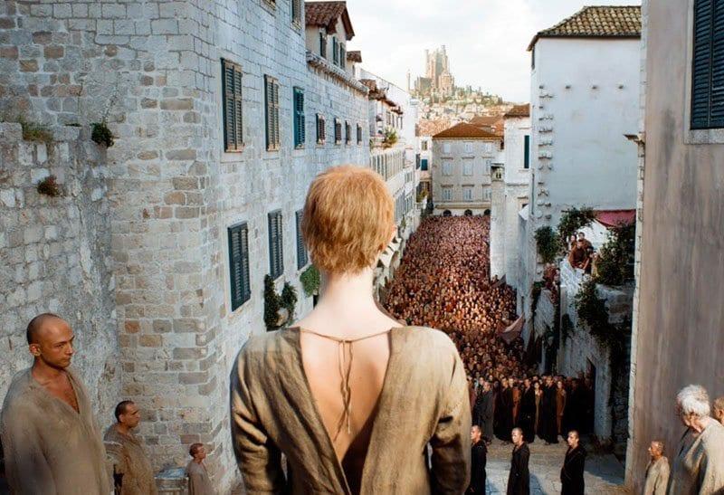 Escena de Juego de Tronos rodada en Dubrovnik