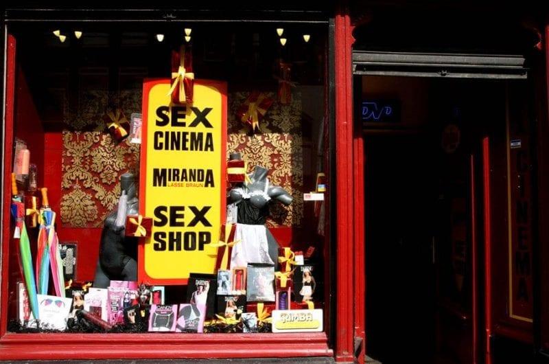 Sex Shop en el barrio rojo de Amsterdam