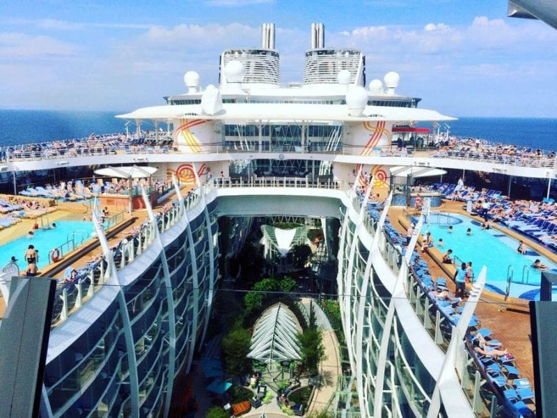 Panorámica del Harmony of the Seas