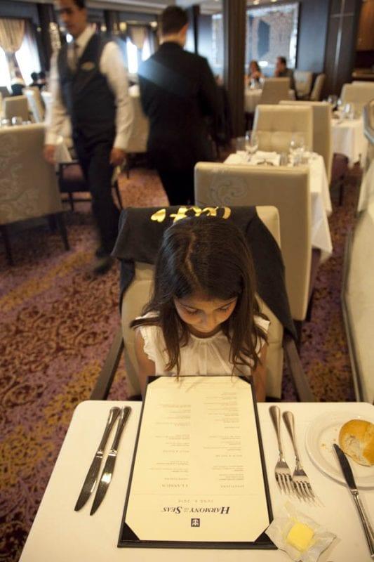 Hay restaurantes a la carta y buffets