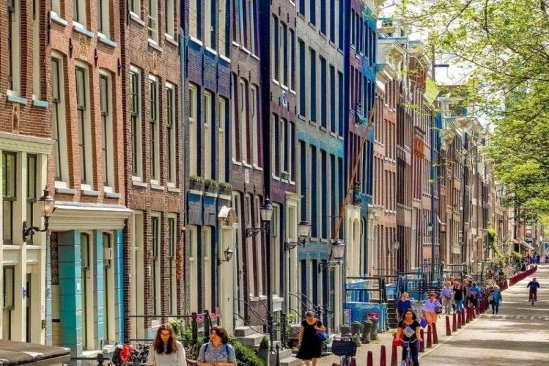 Detalle del barrio de Jordaan
