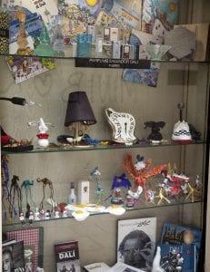 Tienda de recuerdos del museo