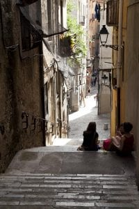 Girona está llena de escaleras