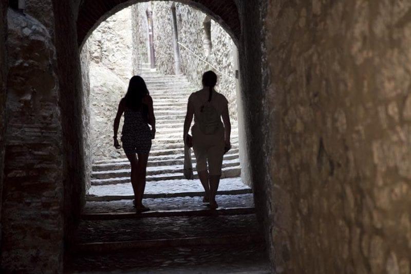 Girona está llena de callejones sinuosos