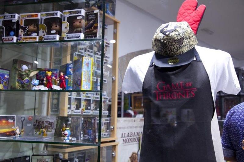 Merchandising para fans de la serie