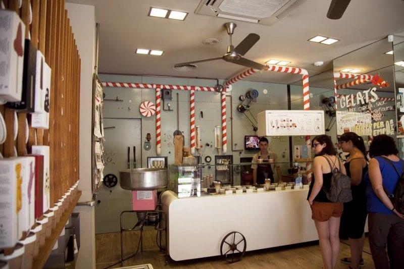 Rocambolesc, heladeria creada por Jordi Roca