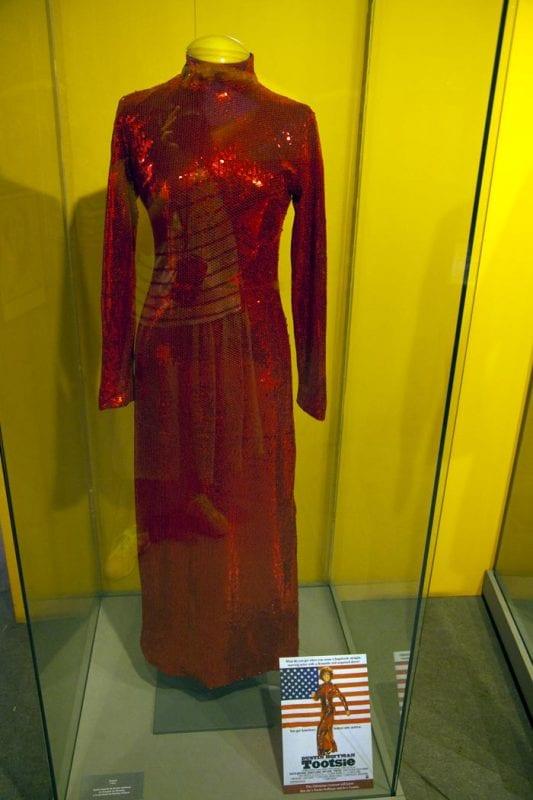 Dustin Hoffman llevó este vestido