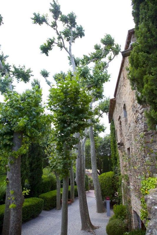 Una de las fachadas del castillo