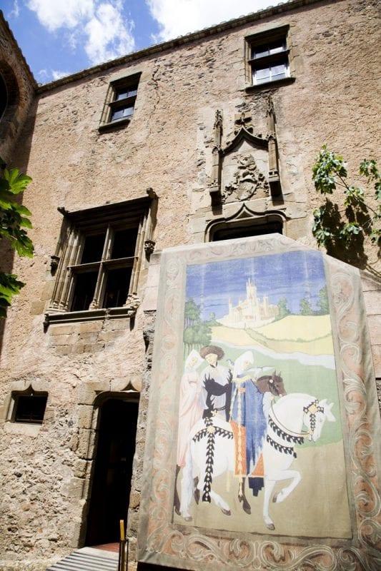 Otra fachada de Púbol